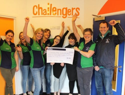 Cranleigh Ladies have raised £437 for Disability Challengers!