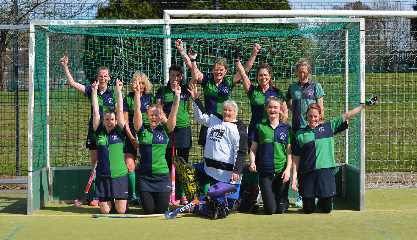 Cranleigh Hockey Club ladies team